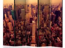 Paraván - Bird Eye View Of Manhattan, New York II [Room Dividers]